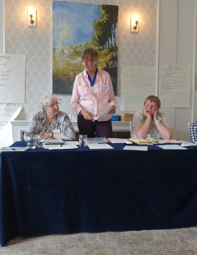 49 Barbara gets the AGM underway